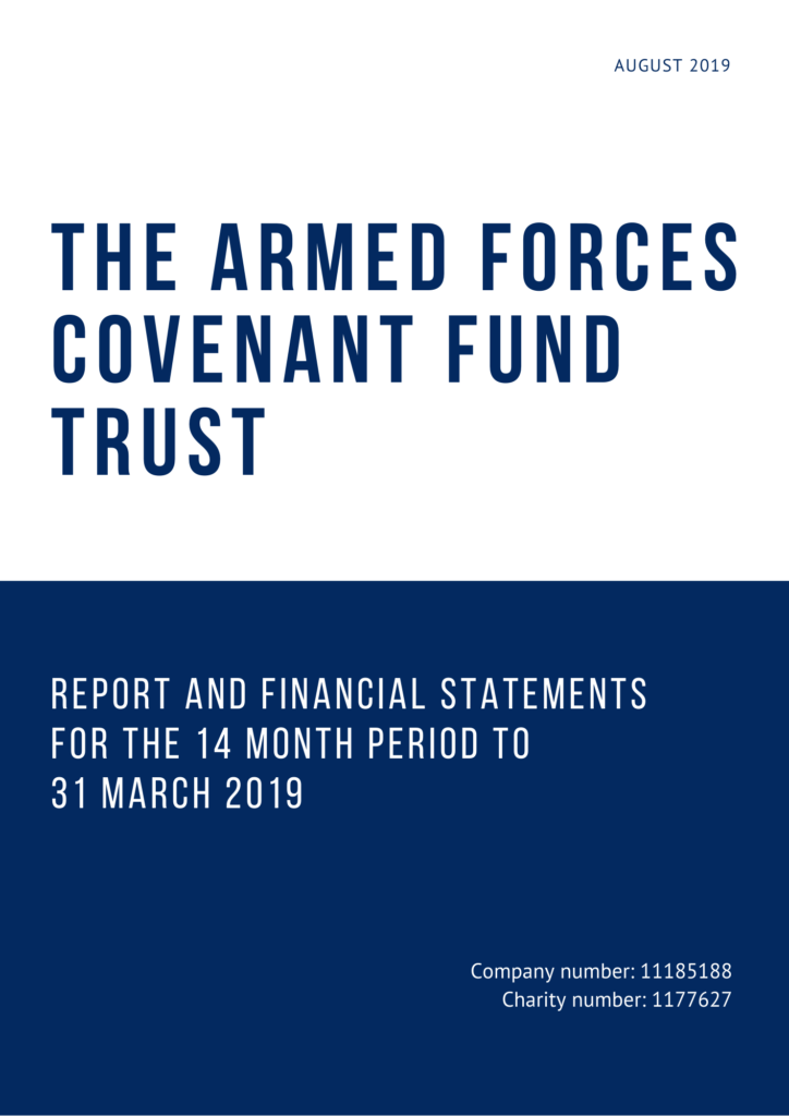 Front cover of the Annual Report and Accounts 2018/19