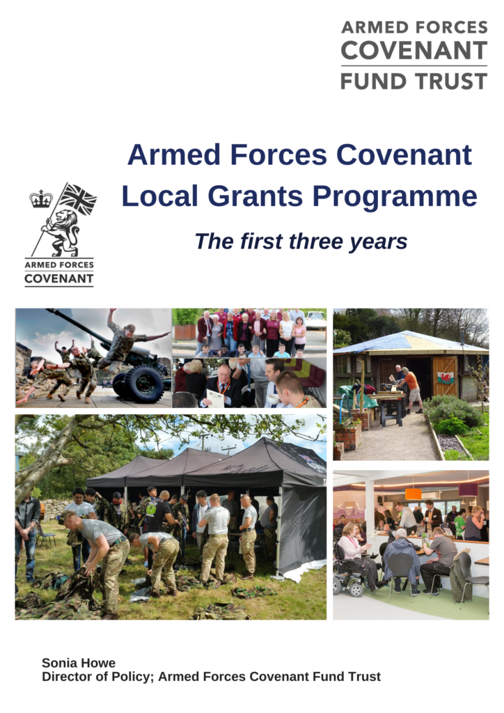 Armed Forces Covenant Local Grants programme three year evaluation report