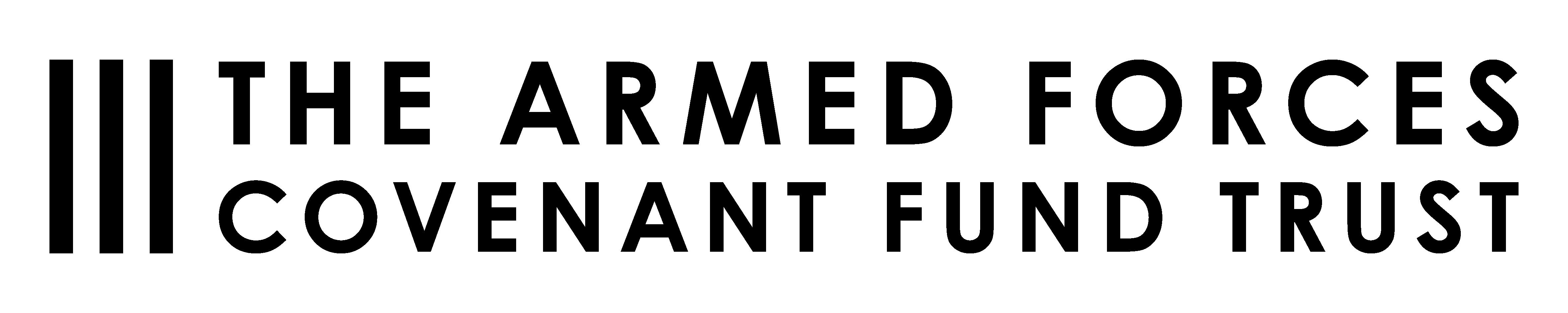 Armed Forces Covenant Fund Trust logo, black, transparent background