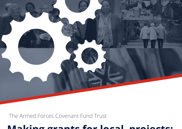 Front cover of Local Grants consultation report