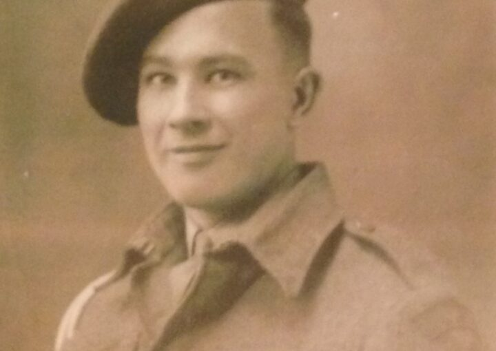 A photo image of Jack, veteran, mentioned in text