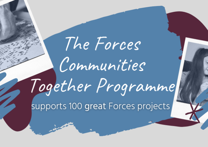 Forces Communities Together: Awards annouced