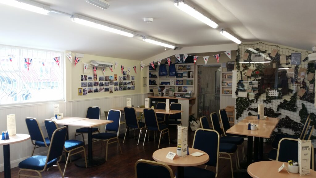 The Troop cafe